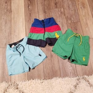 Lot of Boys Polo Ralph Lauren Swim Trunks